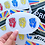 Thumbnail: Primary Fists Sticker