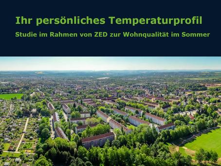 Persönliches Temperaturprofil - Auswertung erfolgt