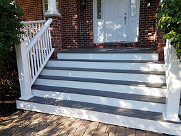 TimberTech Legacy Front Porch Steps Naperville Illinois