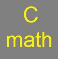Cmaths