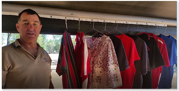Caravan Clothesline