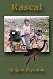 Book, Rascal, girl on bicycle, pet emu