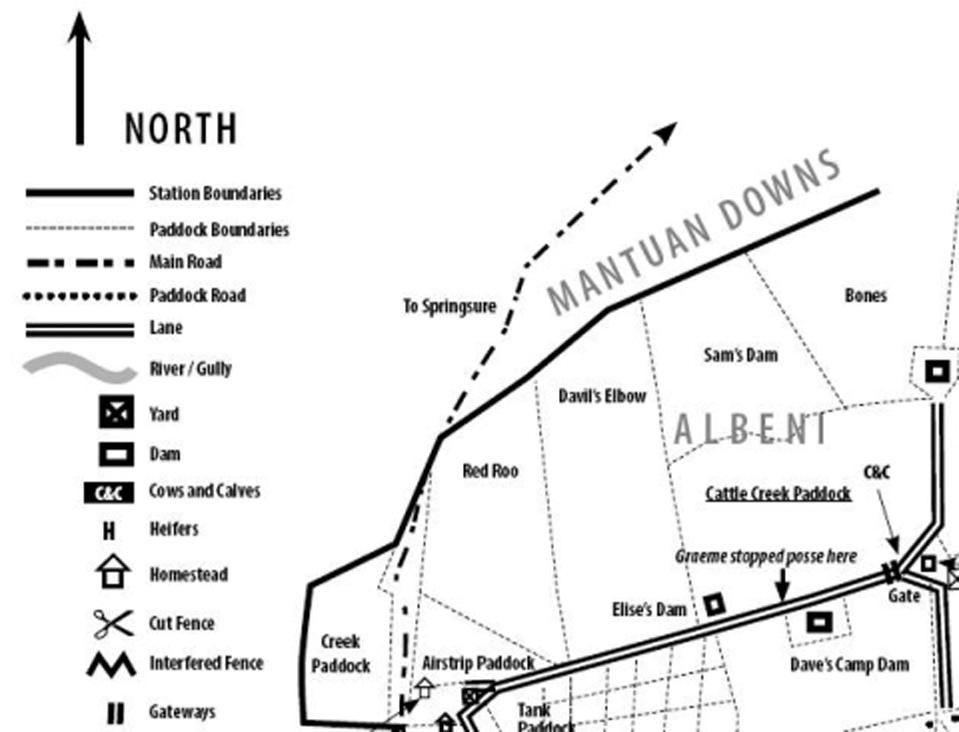 Albeni Map