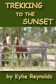 Book, Trekking to the Sunset, kids with horses