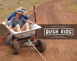 Kids from the Australian outback make their own fun!