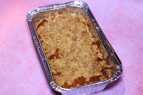 Toffee Apple Crumble Tray Bake