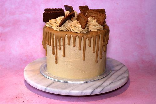 Biscoff/Lotus Drip Cake