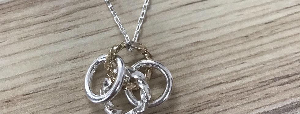 Trio of Circles Pendant