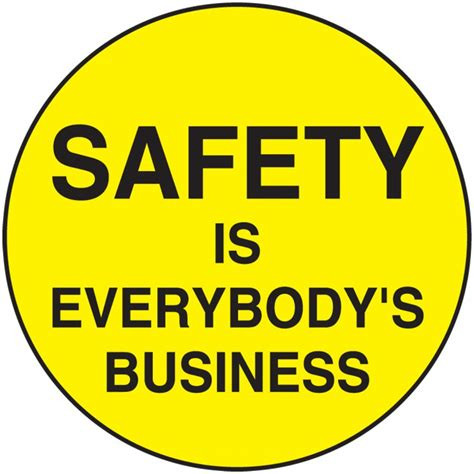 What are your safety goals?