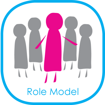 Who can be a role model?