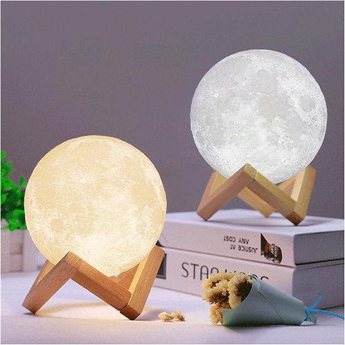 3D Moon Lamp India / Moon Shaped Lamp / LED Moon Lamp / Lunar moonlight lamp-14
