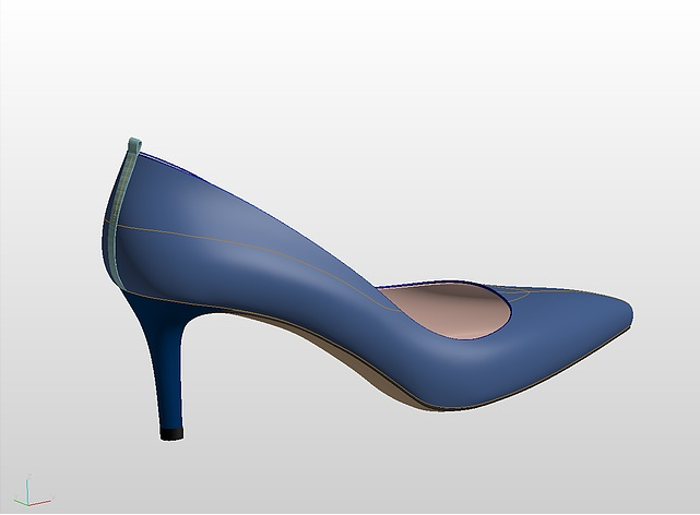 3D Footwear Design solutions