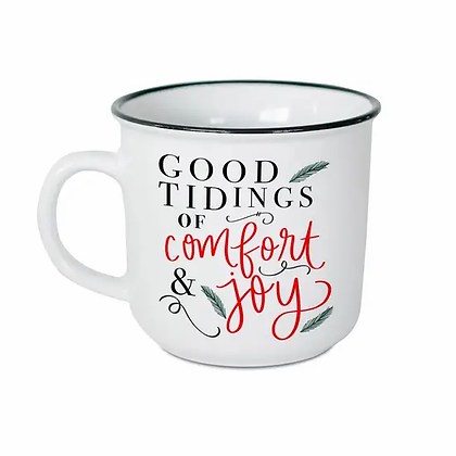 Good Tidings of Comfort and Joy Campfire Mug