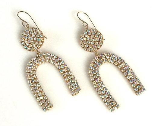 Crystalline Drop Earrings by MaddAlex