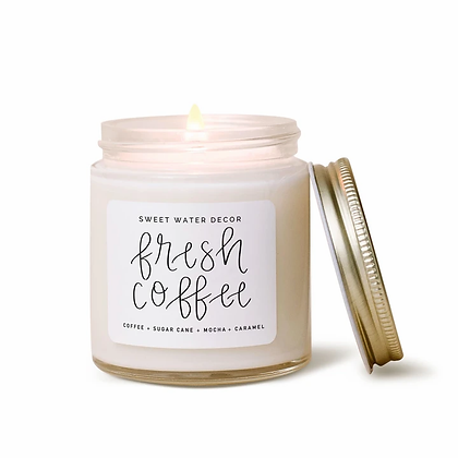Fresh Coffee Soy Candle