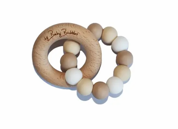 Teething Ring by Baby Bubbles
