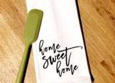 Home Sweet Home Flour Sack Dishtowel