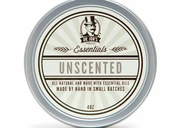 Dr. Jon's Unscented Shaving Soap