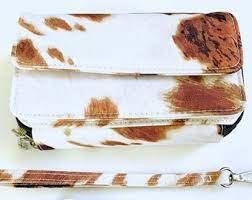Cow Print Clutch/Cross Body