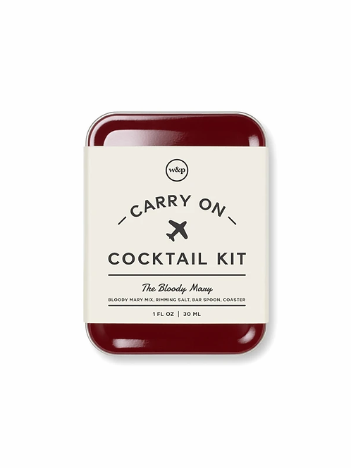 Bloody Mary Carry-On Cocktail Kit