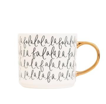 """Falalala"" Mug"