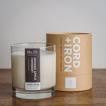 Smoked Apple & Whiskey Candle