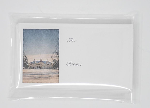 Mount Vernon in the Snow Gift Tags