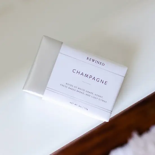Champagne Guest Soap by Rewined