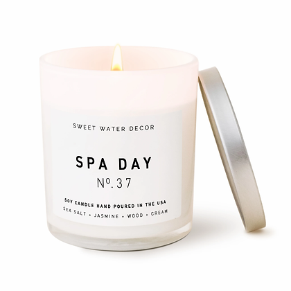 Spa Day Soy Candle