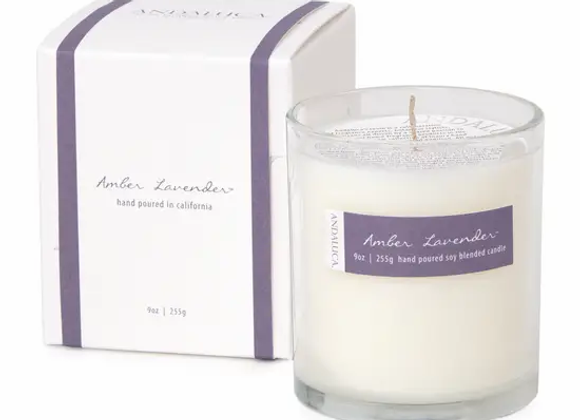 Amber Lavender Candle