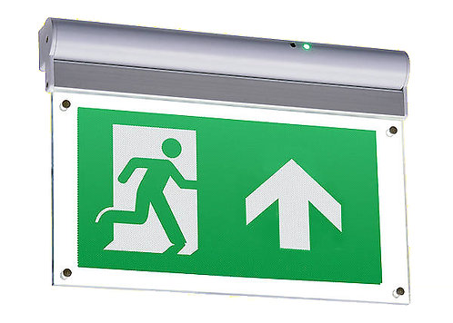 Illumino Ignis K10008 White Hanging Fire Exit Sign