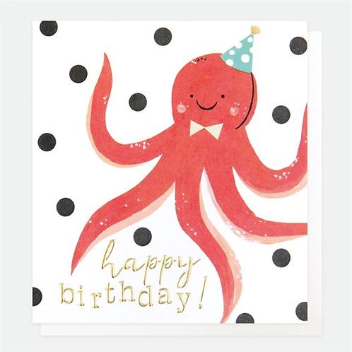 Happy Birthday Octopus