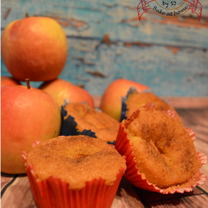 Apfel-Pudding-Muffins