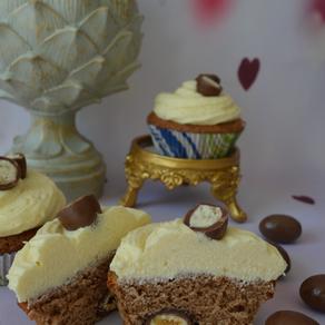 Schoko-Bons-Cupcake