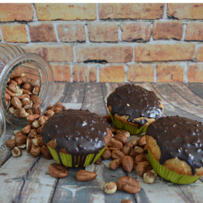 Haselnuss-Muffin