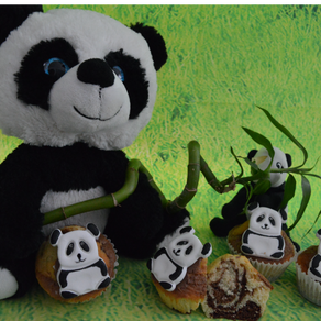 Panda-Muffin