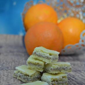 Traditionelle Orangenkekse