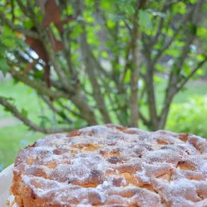 Apfelkuchen mit Zucker-Zimt