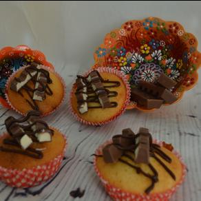 Milchschokolade-Muffin