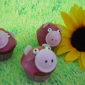 Schweinchen-Muffins