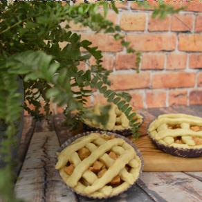 Vegane Mini Apple Pies