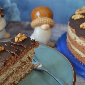 Schoko-Walnuss-Torte