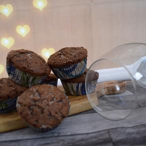 Rotwein-Muffins