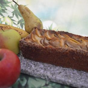 Apfel-Bananen-Birnen-Kuchen