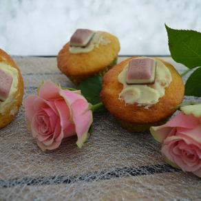 Weiße Schokolade-Muffins
