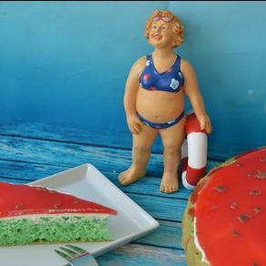 Wassermelonen-Kuchen