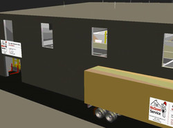 3D LAYOUT FOR 2 FOOD FACTORY