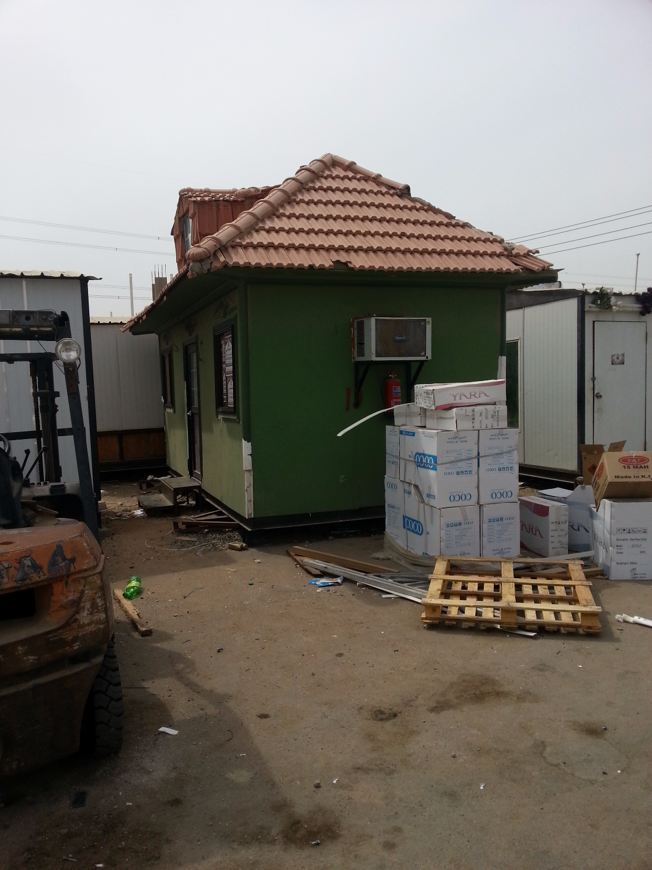 بيوت جاهزة سقف قرميد