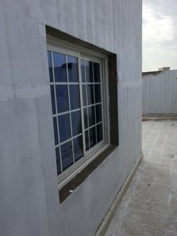 المنيوم مع ديكور نوافذ