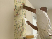 طريقة تركيب ورق الجدران ورق الحائط خطوة بخطوة و بكل احترافية